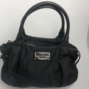 Kate Spade nylon and leather handbags